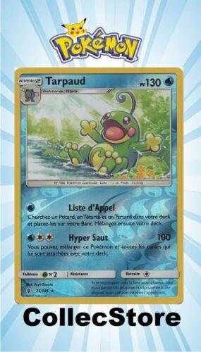 ☺ Carte Pokémon Tarpaud REVERSE 25//145 VF NEUVE SL2 Gardiens Ascendants