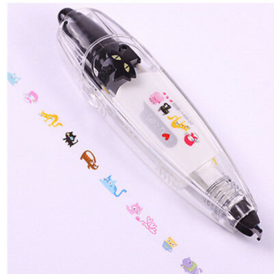Creative Stationery Push Correction Tape Lace Key Tags Sign School Supplies