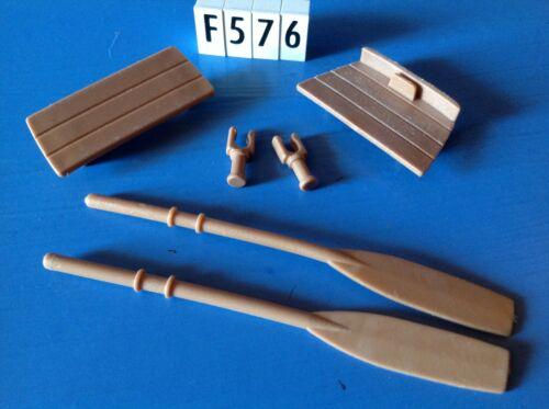Playmobil ensemble de pièces pour barque ref 4290 3740 5135 4424 3740 F576