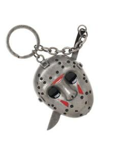 OFFICIAL-FRIDAY-THE-13TH-JASON-VOORHEES-HOCKEY-MASK-KNIFE-METAL-KEYRING-NEW