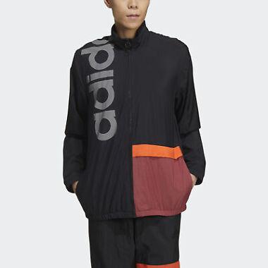 adidas Men's New Authentic Jacket (Black)