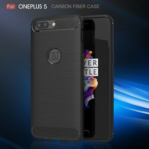 For-OnePlus-5-OnePlus-3-Hybrid-Shockproof-Soft-TPU-Rubber-Brushed-Case-Cover