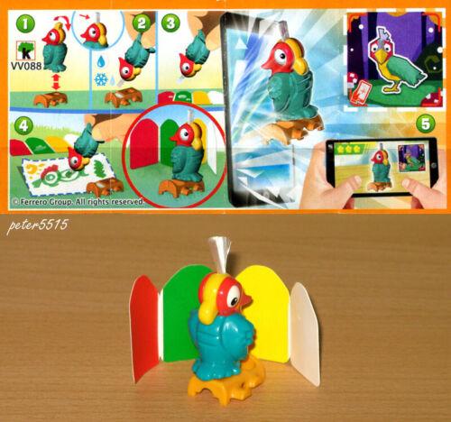 Flying Brushes Red Parrot VV088 mit Beipackzettel