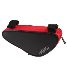 Roswheel Bicycle Triangle Bag Bike Cycling Front Tube Saddle Frame Pouch Red