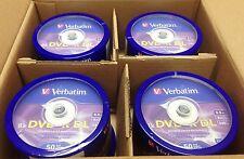 200 Verbatim DVD+R DL 8.5GB 8X Logo Spindle 97000 Disc ID-MKM003 Xbox 360 Comp