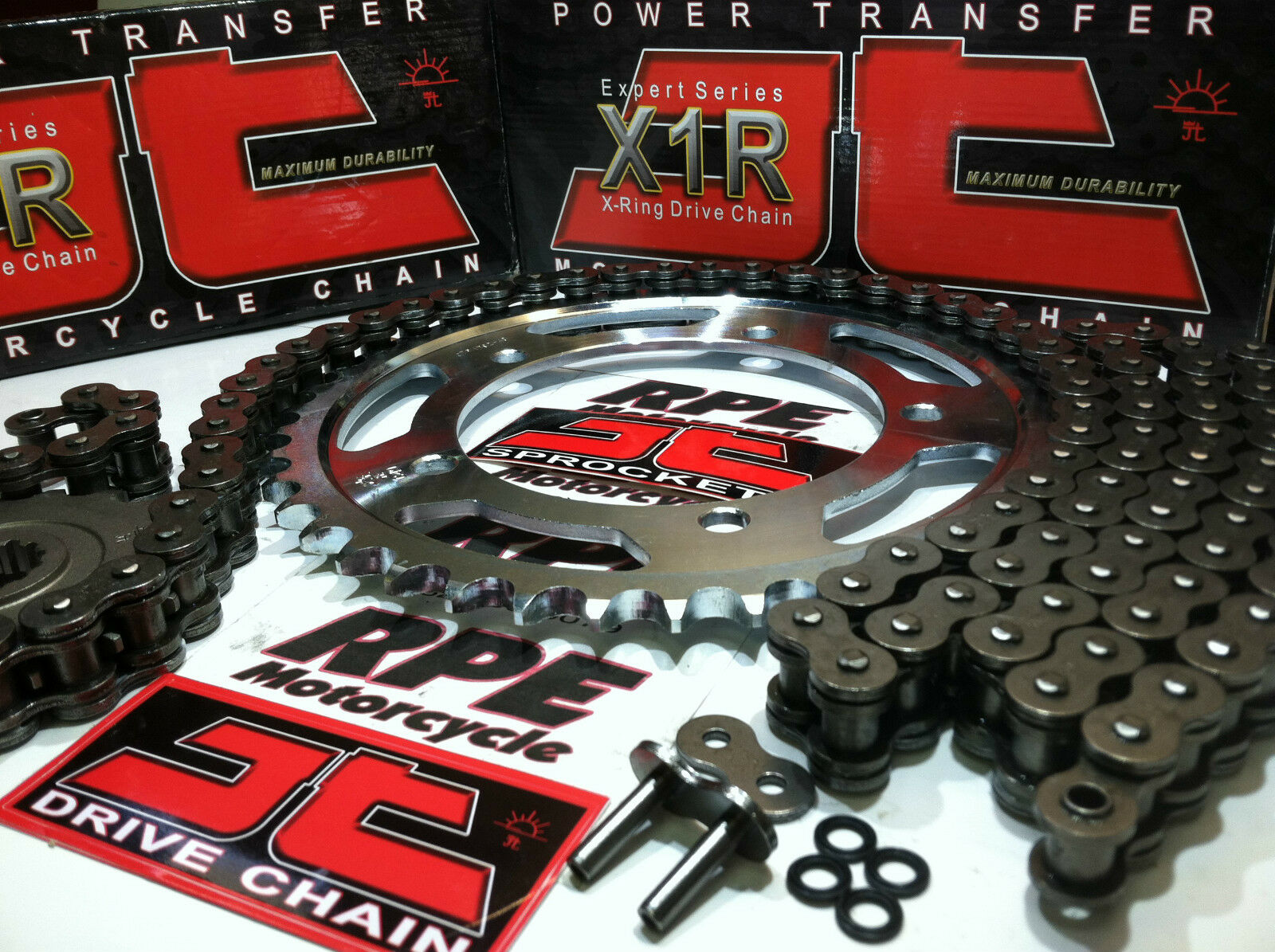 GSF650 Bandit F ABS 2011 X-Ring Gold Chain and Sprocket Kit