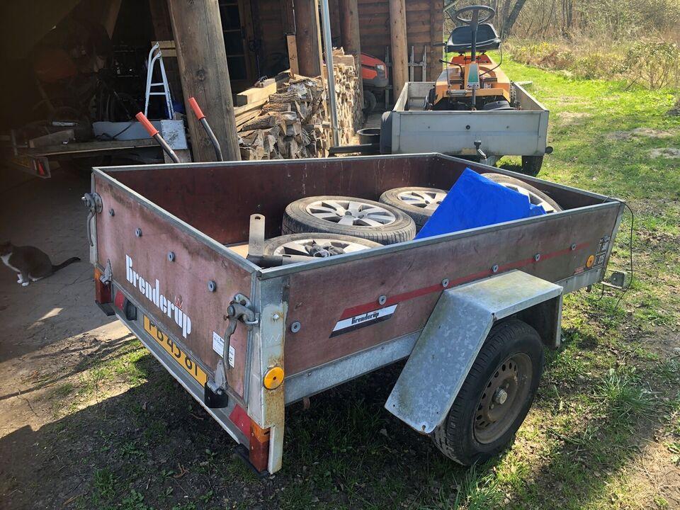 Ladtrailer, Brenderup, lastevne (kg): 325