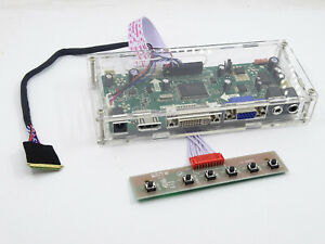 DVI VGA LCD LED LVDS Controller Driver Board kit for HSD089IFW1-B00  HDMI