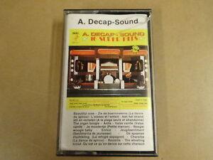 MUSIC-CASSETTE-A-DECAP-SOUND-16-SUPER-HITS-ADS-500