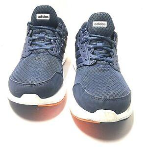 Details about Adidas Mens Galaxy 3 M Ortholite Cloudfoam Blue White Orange CP8818 Size 10.5 Us
