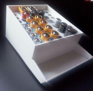 Batterie-Depot-Halter-Box-Mignon-Micro-9Volt-Block-AA-AAA