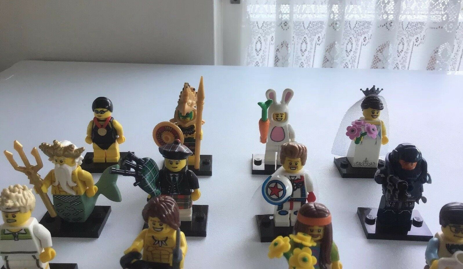 Lego Minifigures Minifigures Minifigures Series 7 Set 8831 Complete 16 Minifigs From 2012 743087