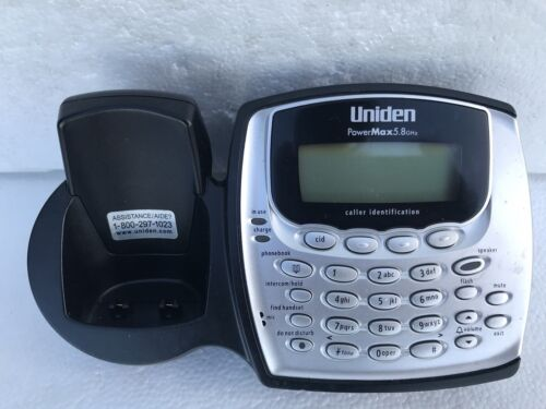 Uniden TRU8865 TRU8885-3HS Phone Base for TCX800 TRU8860-3 TRU8885-2 TRU8885-3HS