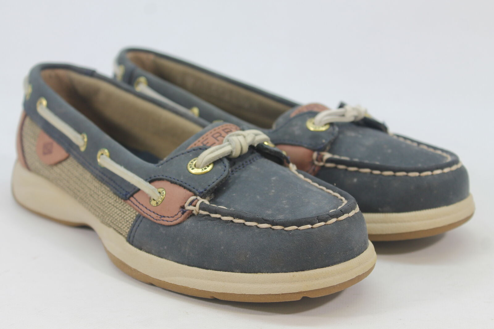 Sperry-Top Sider Angelfish Women's Grey/Multi Boat Shoes 6M (ZAP12579)