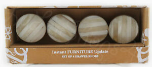 Image Is Loading Instant Furniture Update 4 Distressed Cream Faux Wood