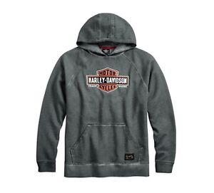 Harley-DavidsonGenuine Classics Pullover Herren Hoodie Gr. M - Sweatshirt, Grau