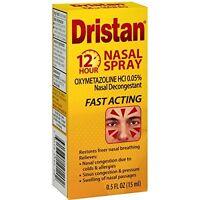 2 Pack Dristan Nasal Spray 12 Hour Nasal Decongestant 0.5 Oz Each on sale