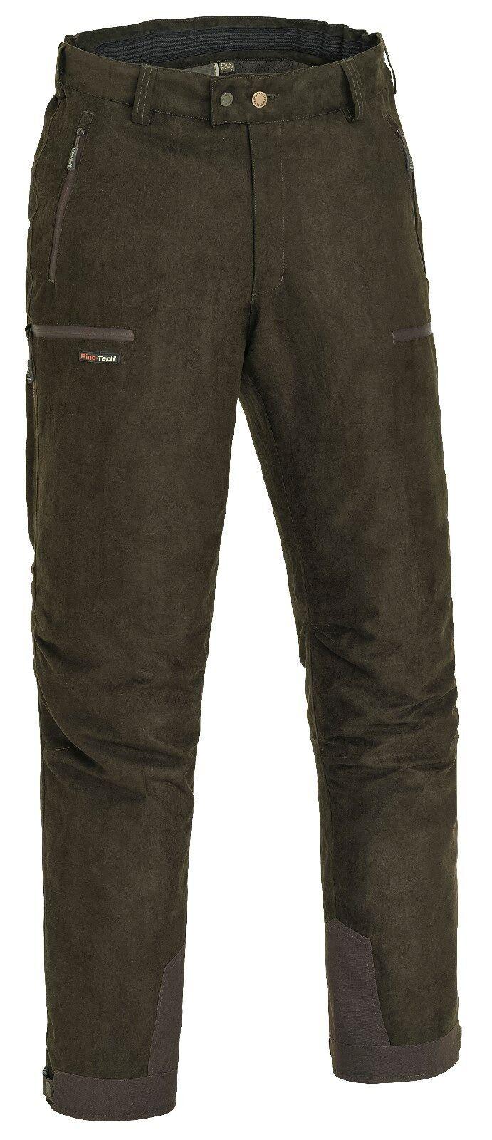 Pinewood Caza- y Pantalones Informales Grouse-Lite - 9967 - Piel de ante Marrón