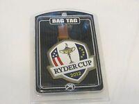 Ryder Cup 2012 Bag Tag Very Rare Pga Golf Collectible Shield Design Usa Ahead