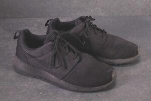 SB756-NIKE-Roshe-One-Damen-Sneaker-Sportschuhe-Gr-40-5-schwarz-black-Mesh