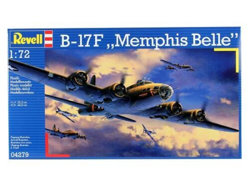 Revell 04279-1//72 B-17F Memphis Belle Neu