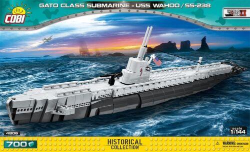 COBI HISTORICAL COLLECTION GATO CLASS SUBMARINE 4806 USS WAHOO // SS-238