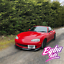 Fit-Mazda-MX5-MK2-5-NBFL-GV-Style-Front-Lip-NB-FL-Black-Gloss miniatura 2