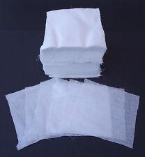 """100% cotone di mussola quadrati.6 """"X 6"""" 500 pack.makeup rimozione, odontoiatrici tovaglioli, ecc."""