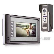 """7"""" TFT Colore LCD Video Campanello Kit Citofono Camera+Monitore Casa Sicurezza"""