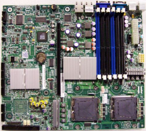 """Intel S5000VCLR LGA771 DDR2 Dual LAN S5000VCL /""""R/"""" Version New Pulled Board Only"""