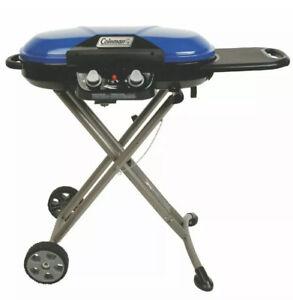 Coleman Roadtrip X-Cursion Propane Grill - Blue 2000017461 20000-Btu 2-Burner