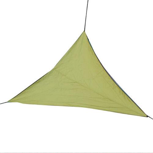 Triangular Shade Sail Waterproof Anti-UV Sun Cover Garden Foldable Shade Sail