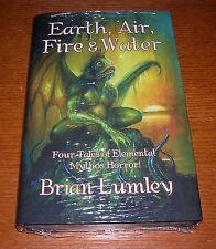 BRIAN LUMLEY EARTH AIR FIRE & WATER FEDOGAN BREMER ARKHAM HOUSE H.P. LOVECRAFT