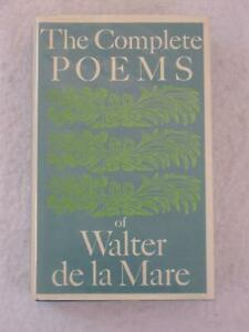 THE-COMPLETE-POEMS-OF-WALTER-DE-LA-MARE-Alfred-A-Knopf-1970-1st-Ex-Library