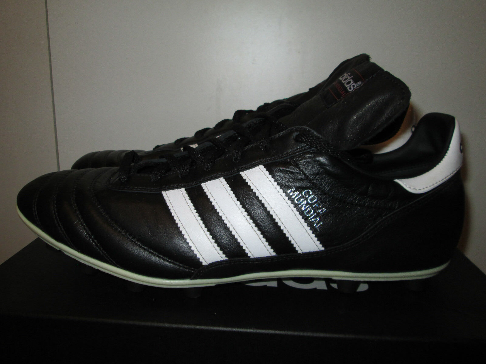 Adidas cuoio copa mundial nero canguro cuoio Adidas fg scarpini da calcio misura 12,5 432b34