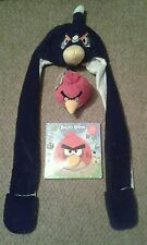 Angry Birds basso di lenza Cappello Sciarpa Guanti giocattolo morbido LIBRO mano fantoccio Red Bird RESCUE NUOVO