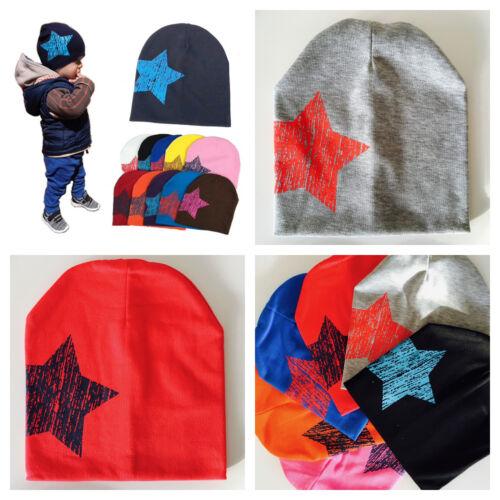 Bambino Bambino per Bambini Inverno Cappello Beanie 1-4 ANNI colori luminosi Ragazzi Ragazze