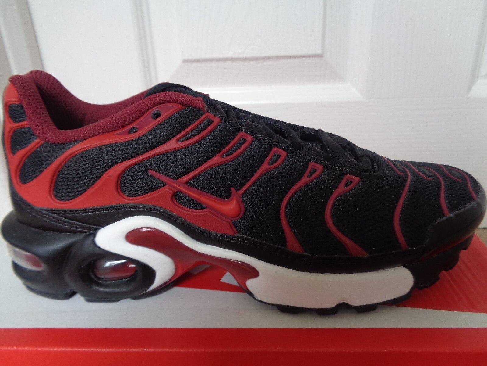 27b13bdfdd Original Womens Girls Nike Air Max TN Plus Tuned 1 Black Pink ...