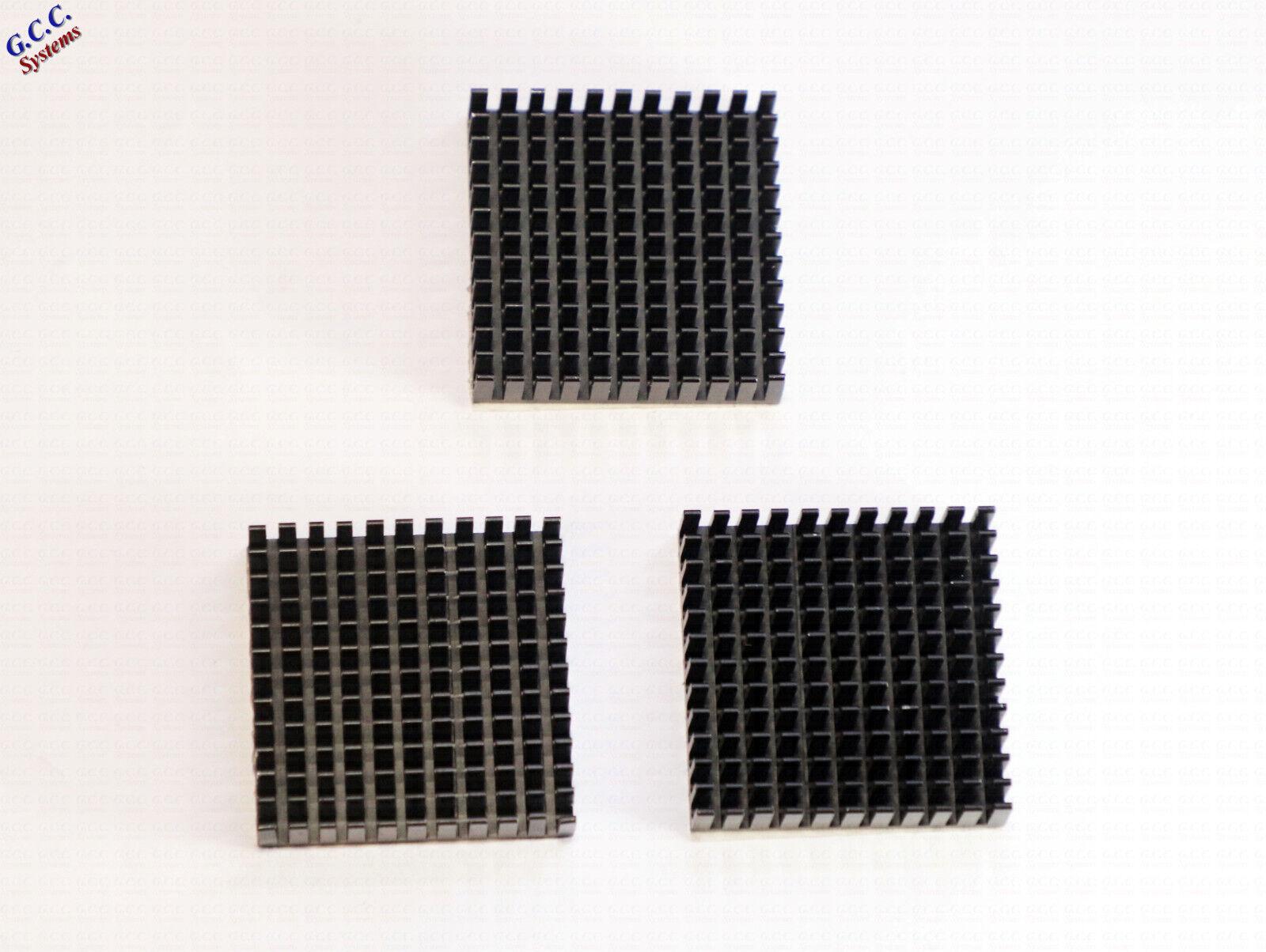 3x 3D Printer NEMA17 42 Stepper Motor Heatsinks With Thermal Adhesive Backing
