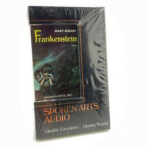 RARE-OOP-Mary-Shelley-Frankenstein-CASSETTE-TAPE-audio-book-1985-SEALED