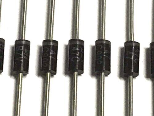 2 watt STMicroelectronics 44-50v 47v, Bzv47c47rl Silicon Z-diodo 50 trozo