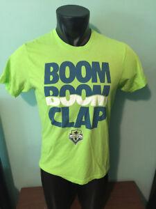 best website 9a8e2 1af2c Image is loading Homage-Seattle-Sounders-FC-Boom-Boom-Clap-Shirt-