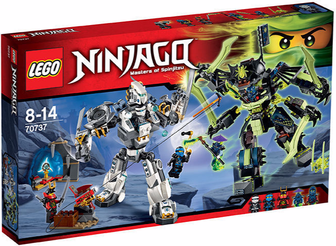 Lego ninjago - titan mech - schlacht (70737 bnib)