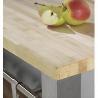 Solid Maple Kitchen Worktop 2m X 720 X 40mm A1 Grade