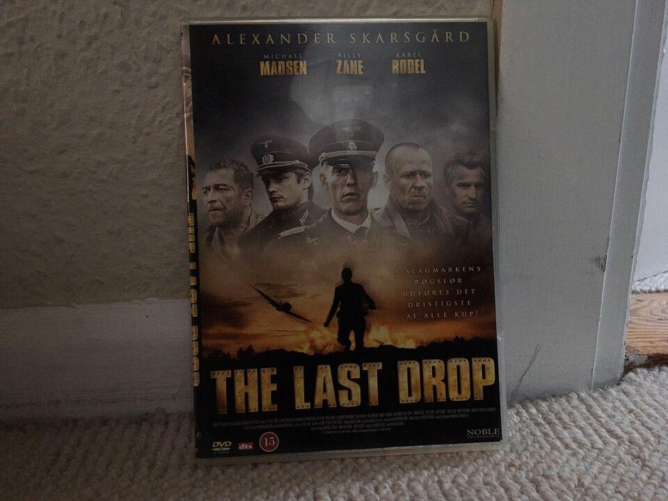 THE LAST DROP, instruktør COUN TEAGUE, DVD