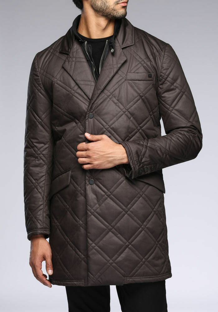 ANTONY MORATO shiny quilted cotton coat (Größe 50/L)