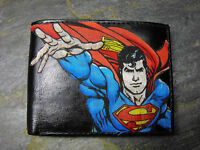 Superman Decorated Leather Wallet M122