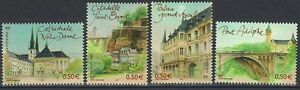 Y-amp-T-n-3624-a-3627-Capitale-europeenne-Luxembourg-2003-NEUF