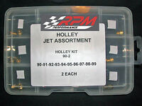 Holley Carburetor 1/4-32 Gas Main Jets Assortment Kit 90-99 2 Each 20pack 90-2