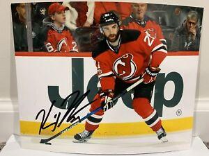 best service a731e 4d65c Details about KYLE PALMIERI New Jersey Devils SIGNED Autographed 8X10 Photo  w/ COA